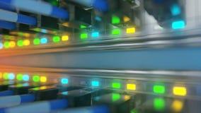 Κεντρικών υπολογιστών δωματίων τρισδιάστατη απόδοση ζωτικότητας βρόχων έτοιμη απόθεμα βίντεο