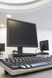 κεντροθετήστε την κατάρτιση υπολογιστών Στοκ Εικόνες