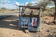 Κενυατικές εκλογές το 2017, Κένυα, Αφρική Στοκ Φωτογραφία