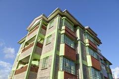 Κενυατική πολυκατοικία Στοκ Εικόνες