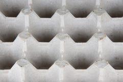 Κενός δίσκος των αυγών που απομονώνονται Στοκ φωτογραφία με δικαίωμα ελεύθερης χρήσης