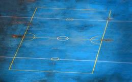 κενός αθλητισμός δικαστ&e Στοκ εικόνα με δικαίωμα ελεύθερης χρήσης