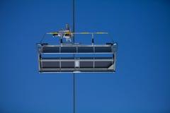 Κενός ανελκυστήρας εδρών Στοκ φωτογραφία με δικαίωμα ελεύθερης χρήσης