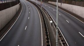 κενός αυτοκινητόδρομος Στοκ φωτογραφία με δικαίωμα ελεύθερης χρήσης