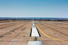 Κενός διάδρομος αερολιμένων Στοκ φωτογραφίες με δικαίωμα ελεύθερης χρήσης