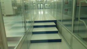 Κενός διάδρομος στο εργοστάσιο απόθεμα βίντεο