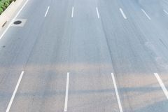 κενός δρόμος ασφάλτου στοκ εικόνα με δικαίωμα ελεύθερης χρήσης