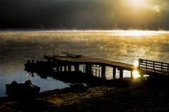 κενός λιμενοβραχίονας Στοκ Φωτογραφίες
