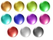 κενός καθαρός κουμπιών Στοκ εικόνες με δικαίωμα ελεύθερης χρήσης