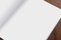 Κενός κατάλογος, περιοδικά, χλεύη βιβλίων επάνω στοκ φωτογραφίες με δικαίωμα ελεύθερης χρήσης