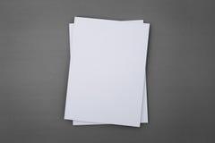 Κενός κατάλογος, φυλλάδιο, περιοδικά, βιβλίο Στοκ φωτογραφία με δικαίωμα ελεύθερης χρήσης