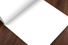 Κενός κατάλογος, φυλλάδιο, περιοδικά, χλεύη βιβλίων επάνω στοκ εικόνες