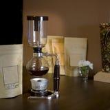 Κενός κατασκευαστής καφέ σιφωνίων Στοκ φωτογραφίες με δικαίωμα ελεύθερης χρήσης