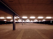 κενός κύριος χώρος στάθμε& Στοκ Φωτογραφίες