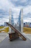 Κενός ουρανός: Μνημείο στις 11 Σεπτεμβρίου του Νιου Τζέρσεϋ Στοκ Φωτογραφίες