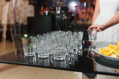 κενός πίνακας γυαλιών Στοκ φωτογραφία με δικαίωμα ελεύθερης χρήσης