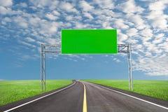 Κενός πίνακας διαφημίσεων για τη διαφήμισή σας με το διάστημα για το κείμενο στο ρ στοκ φωτογραφίες με δικαίωμα ελεύθερης χρήσης