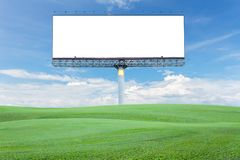 Κενός πίνακας διαφημίσεων για τη διαφήμισή σας με το διάστημα για το κείμενο σε GR στοκ φωτογραφία με δικαίωμα ελεύθερης χρήσης