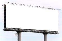 Κενός πίνακας διαφημίσεων Στοκ Φωτογραφίες