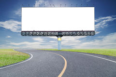 Κενός πίνακας διαφημίσεων για τη διαφήμισή σας με το διάστημα για το κείμενο στο ro στοκ φωτογραφίες με δικαίωμα ελεύθερης χρήσης