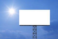 Κενός πίνακας διαφημίσεων για τη διαφήμιση στοκ φωτογραφίες