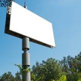 Κενός πίνακας διαφημίσεων με το κενό διάστημα Στοκ φωτογραφίες με δικαίωμα ελεύθερης χρήσης