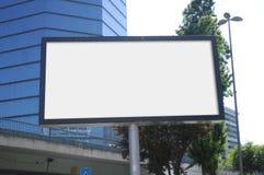 Κενός πίνακας διαφημίσεων υπαίθρια, υπαίθρια διαφήμιση Στοκ Φωτογραφίες