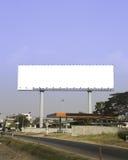 Κενός πίνακας διαφημίσεων. Χρήσιμος για τη διαφήμισή σας. στοκ φωτογραφίες