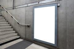 Κενός πίνακας διαφημίσεων Στοκ Φωτογραφία
