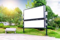Κενός πίνακας διαφημίσεων στοκ φωτογραφία με δικαίωμα ελεύθερης χρήσης