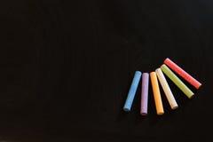 κενός πίνακας κιμωλίας Στοκ εικόνες με δικαίωμα ελεύθερης χρήσης