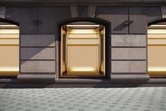 Κενός παρουσιάστε παράθυρο Στοκ εικόνες με δικαίωμα ελεύθερης χρήσης