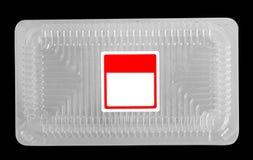 κενός πλαστικός δίσκος τ& Στοκ φωτογραφία με δικαίωμα ελεύθερης χρήσης