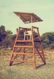 κενός πύργος lifeguard στοκ εικόνες με δικαίωμα ελεύθερης χρήσης