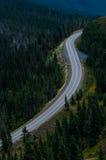 Κενός δρόμος βουνών. Στοκ φωτογραφίες με δικαίωμα ελεύθερης χρήσης