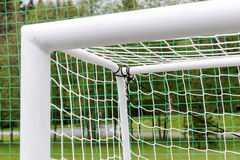 Κενός στόχος ποδοσφαίρου Στοκ Εικόνα
