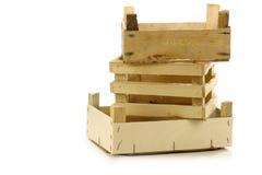 κενός συσσωρευμένος ξύλ στοκ φωτογραφία