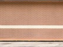 κενός τοίχος τούβλου Στοκ φωτογραφίες με δικαίωμα ελεύθερης χρήσης