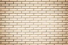 Κενός τοίχος φιαγμένος από τούβλα. Στοκ εικόνες με δικαίωμα ελεύθερης χρήσης