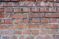 Κενός τούβλινος τοίχος Στοκ φωτογραφία με δικαίωμα ελεύθερης χρήσης