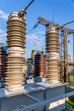 Κενός υψηλής τάσεως ηλεκτρικός εξοπλισμός Στοκ Εικόνα