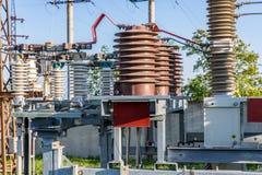 Κενός υψηλής τάσεως ηλεκτρικός εξοπλισμός Στοκ Εικόνες