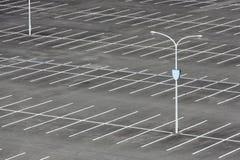 Κενός χώρος στάθμευσης αυτοκινήτων Στοκ φωτογραφίες με δικαίωμα ελεύθερης χρήσης
