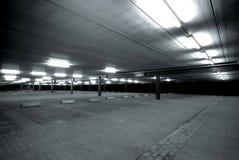 κενός χώρος στάθμευσης μ&eps Στοκ Φωτογραφίες