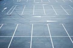 κενός χώρος στάθμευσης μ&eps Στοκ φωτογραφία με δικαίωμα ελεύθερης χρήσης