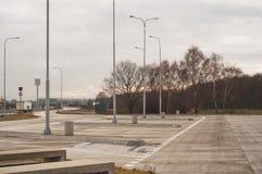 κενός χώρος στάθμευσης μ&eps Στοκ Φωτογραφία