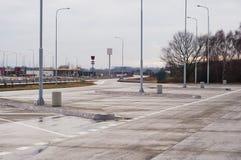 κενός χώρος στάθμευσης μ&eps Στοκ εικόνες με δικαίωμα ελεύθερης χρήσης