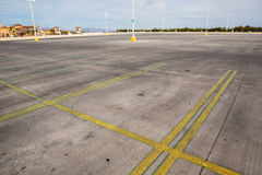 κενός χώρος στάθμευσης μ&eps Στοκ εικόνα με δικαίωμα ελεύθερης χρήσης