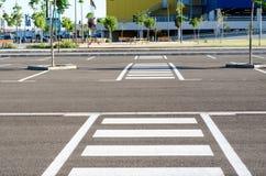κενός χώρος στάθμευσης Στοκ φωτογραφία με δικαίωμα ελεύθερης χρήσης