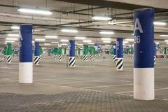 κενός χώρος στάθμευσης &upsilon Στοκ φωτογραφία με δικαίωμα ελεύθερης χρήσης